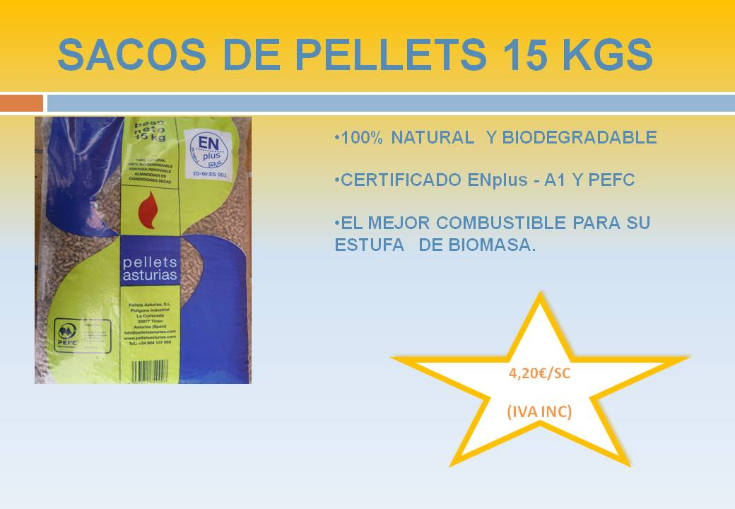Venta y almacenamiento de pellets